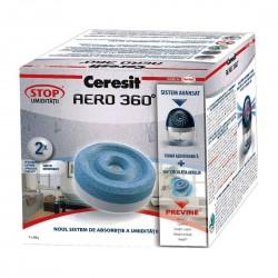 Rezerve aparat antiumiditate Ceresit Aero 360, interior, 2 x 450 gr