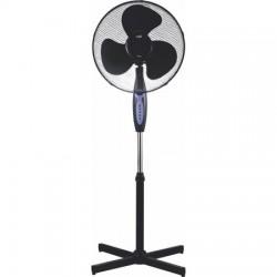 Ventilator cu picior Well, 43 cm, telecomanda, 45W, 3 trepte de viteza, oscilatie 90°, IP20