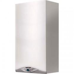 Centrala termica murala in condensare Ariston Cares Premium 30 EU, Gaz, Tiraj fortat, 30 kW, Doua schimbatoare de caldura, Displ