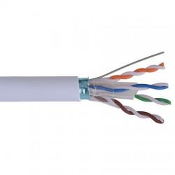 Cablu FTP CAT6E 0,5 mm CCA, rola de 305 m, 305m