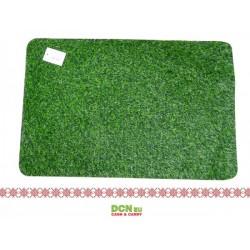 Covor ușă iarba verde-Klip 60x40cm