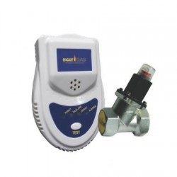 DETECTOR GAZ + SENZOR 3/4 SICURGAS NFG